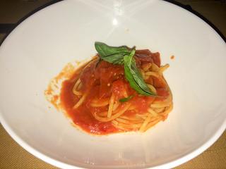Spaguetti al Pommodoro