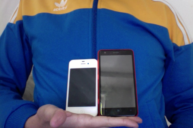 Nokia 625 VS iPhone4