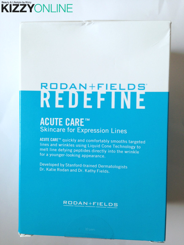 review rodan fields acute care  expression lines overnight eye strips