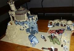 Lego Tattoine work in progress