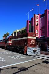 Train Passing Casino