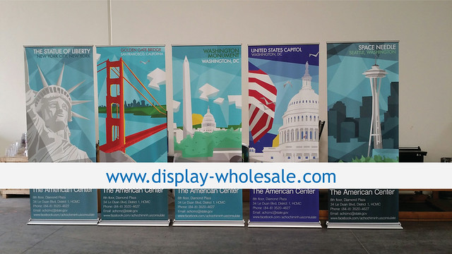 "36"" HD Retractable Banner Stand"