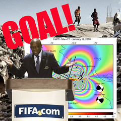 BIG HIT of FIFA official Jack Warner: embezzlement of earthquake aid money meant for Haiti in 2010