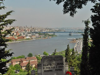 Istanbul View from Cemetary