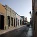 Campeche, calle típica. por helicongus