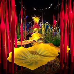 Another stunning piece from the Chihuly Garden and Glass in Seattle! #chihulygardenandglass #seattle #blownglass