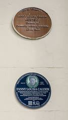 Photo of Fanny Louisa Calder blue plaque