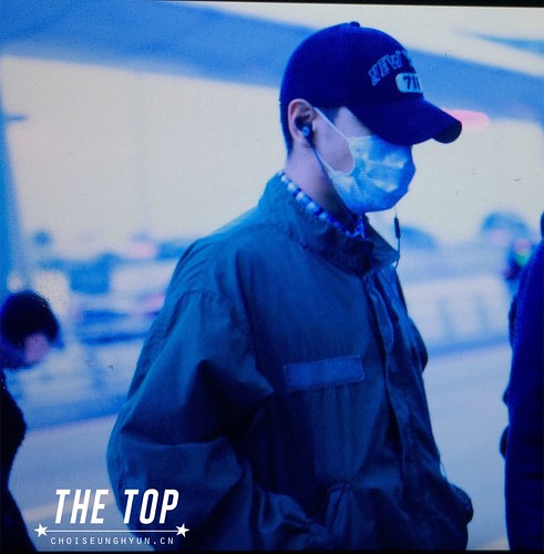 Big Bang - Incheon Airport - 27nov2015 - The TOP - 02