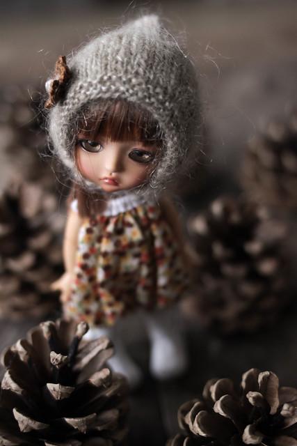 Pine Cone Doll