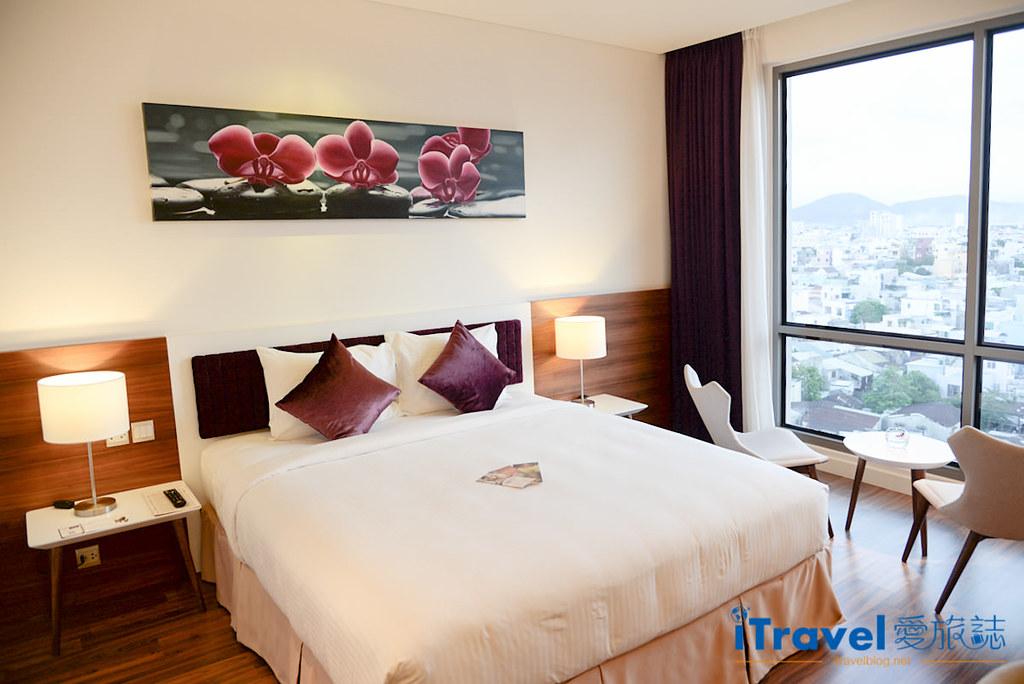 《岘港饭店推荐》Vanda Hotel 凡达酒店:2015年新开业,眺望汉江河景的商务饭店新选择。