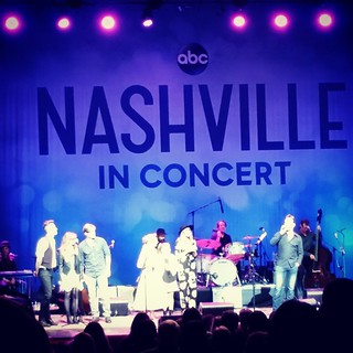 @nashvilleabc in Boston! @sampalladio @heypeeplesitsaubrey @lennonandmaisyofficial @clarembee @charles_esten and Chris Carmack