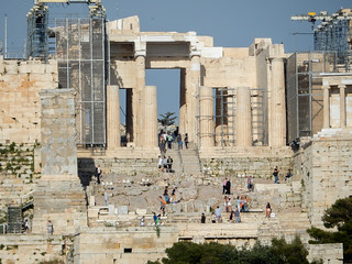 Afbeelding van Pnyx. athens greece acropolis foreveryoung propylaea foreveryoung2015athens