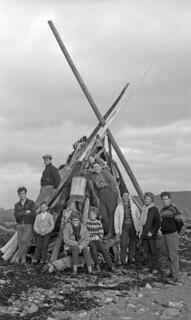 Pinsebålet bygges (1961)