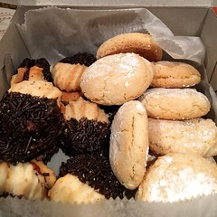 The best kind of #souvenir is an edible one! #cookies #italian #italiancookies #hoboken
