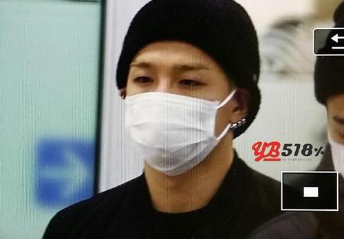 BB-GimpoAirport-backfromOsaka-Taeyang-20141124-10
