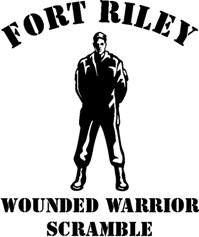 Wounded Warrior Scramble Logo