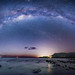 The Milky Way over the Coral Sea by Wayne Pinkston