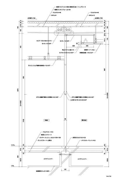 Photo:aat + Makoto Yokomizo - 富弘美術館 Tomihiro Art Museum - Drawings 13 - 細部圖 Detail By 準建築人手札網站 Forgemind ArchiMedia