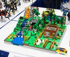 Minecraft Display - Ralph Copley