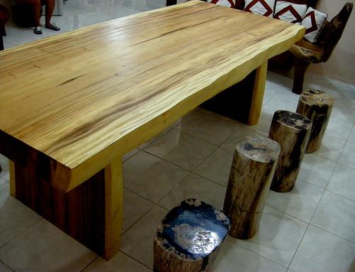Rustic Wood Furnishings