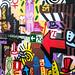 Graffiti - one way - #graffiti #cellularphone #phone #Samsung #SamsungGalaxy #abstract #streetart #fineart #municipaltheaterbauru