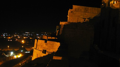 View from my room in Jaisalmer Fort