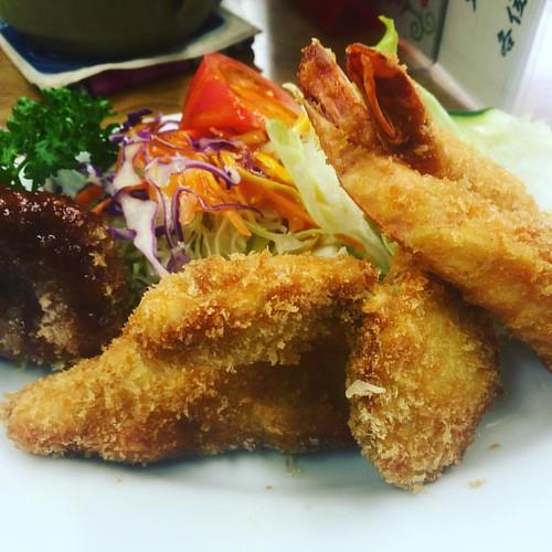ニューフジ@愛知県東海市のランチ。レトロ食堂そのもので気分最高  #food