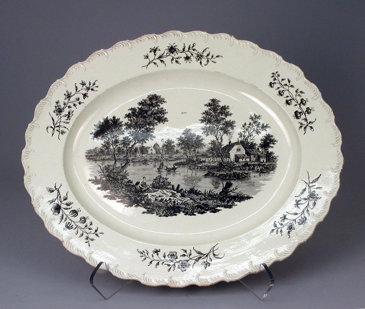 c 1780. Platter. Josiah Wedgwood. Credit metmuseum.org