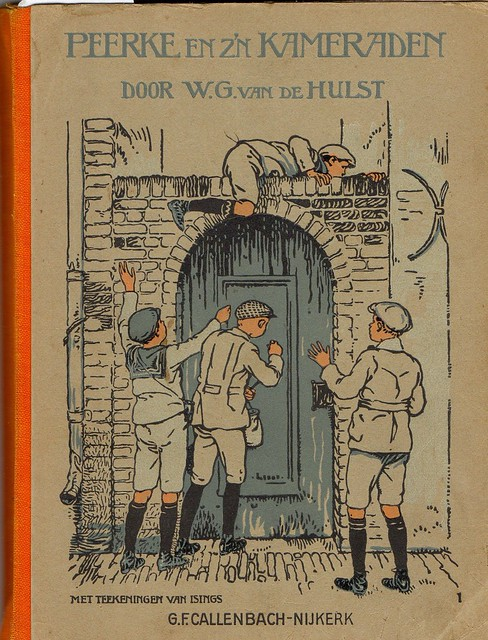 is. Boekband  cover Bucheinband Johan H. Isings 1884 - 1977