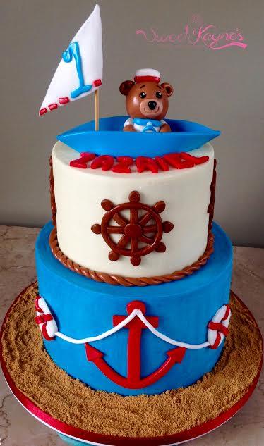 Sailor Bear Cake by Florence Kayne X. Tan of Sweet Kayne's