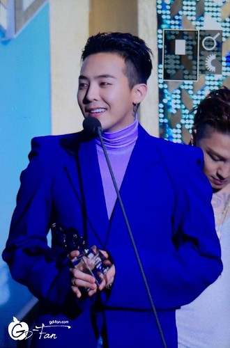 Big Bang - The 5th Gaon Char K-Pop Awards - 17feb2016 - GD Fan - 06