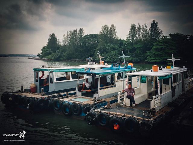 Pulau Ubin Bumboats