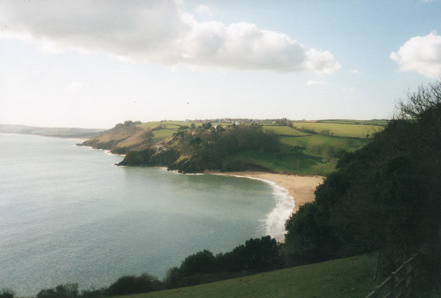Approaching Blackpool Sands