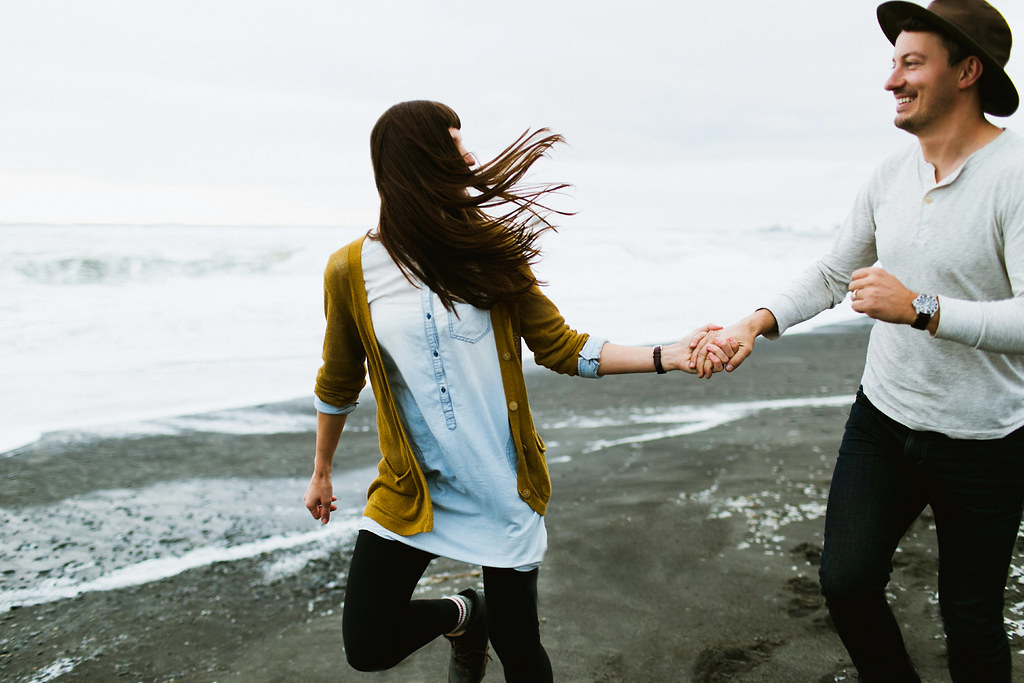 Rialto Beach engagement session