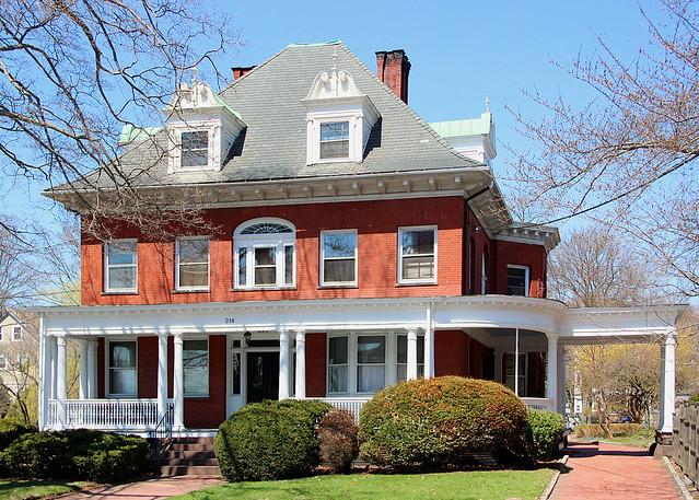 Historic Providence Home by Robert Magina
