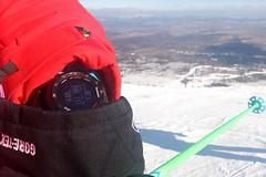 Hračky pro lyžaře: hodinky pro rychlost Garmin Fénix 2