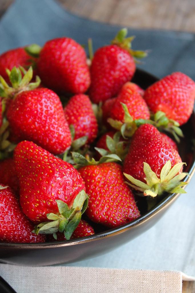 Bâtonnets glacés fraise