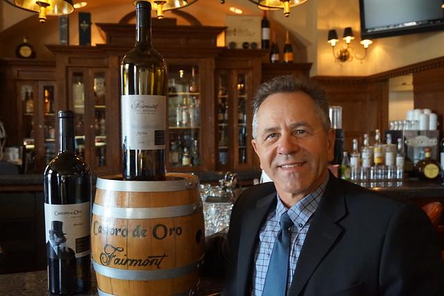 Castoro de Oro Winemaker Bruno Kelle Hotel Macdonald