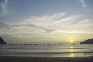 Bilde av Playa San Juan del Sur. paisajes beach water landscape boats agua barcos sunsets playa rivas ecoturismo costas sanjuandelsur paisajesdeplaya clubfotografico