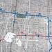 Fragmento de mapa del metro por laap mx
