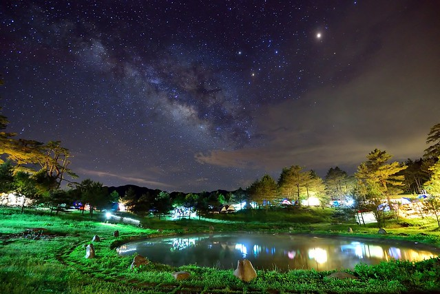 Milky way,Fushoushan Farm 福壽山銀河