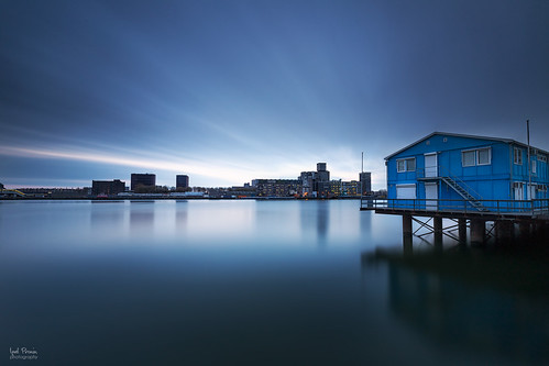 old city blue sea sky urban house seascape west holland nature water netherlands modern landscape rotterdam cabin europa europe long exposure cityscape north