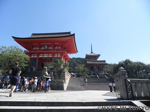 Kiyomizudera temple in Kyoto 清水寺