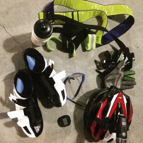 Post ride gear dump. Name it all... #bikemonthsd #GObyBIKEsd #readyformore