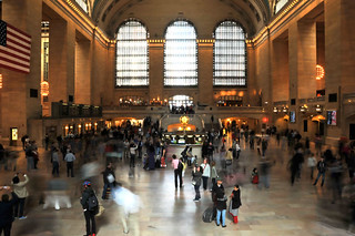 New York, Grand central station, HDR, 2