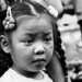 Little girl in China town, Bangkok, Thailand