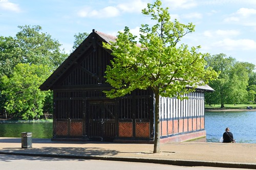 Boathouse in Hyde Park