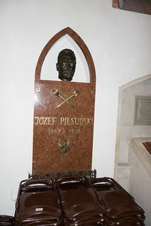 Memorial to Jozef Pilsudski
