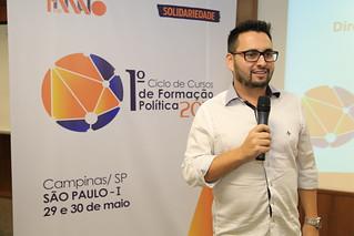 Ciclo de Formação Política da Fundação 1º de Maio em Campinas
