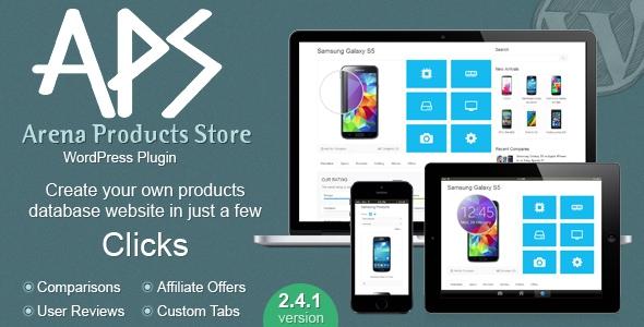 Arena Products Store v2.4.1 - WordPress Plugin
